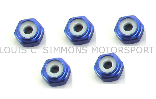 2mm Purple Lock Nuts